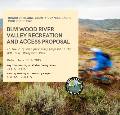 BLM Wood River Valley Recreation And Access Proposal